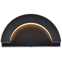Living District LDOD4032BK Raine 5 inch Black Outdoor Wall Light