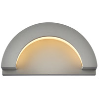 Living District LDOD4032S Raine 5 inch Silver Outdoor Wall Light