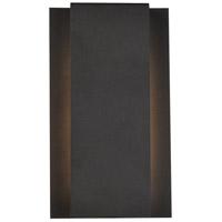 Living District LDOD4033BK Raine 12 inch Black Outdoor Wall Light