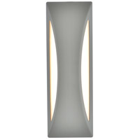 Living District LDOD4036S Raine 14 inch Silver Outdoor Wall Light