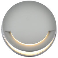 Living District LDOD4037S Raine 8 inch Silver Outdoor Wall Light