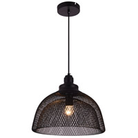 Living District LDPD2032 Warren 1 Light 14 inch Black Pendant Ceiling Light