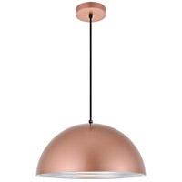 Living District LDPD2042HG Circa 1 Light 16 inch Honey Gold Pendant Ceiling Light