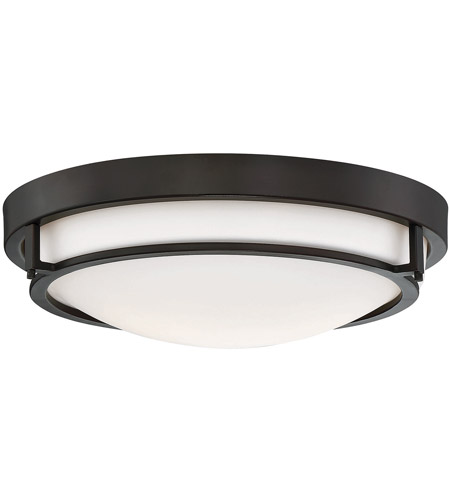 Light Visions Pl0082orb Modern Contemporary 2 Light 13 Inch Oil Rubbed Bronze Flush Mount Ceiling Light