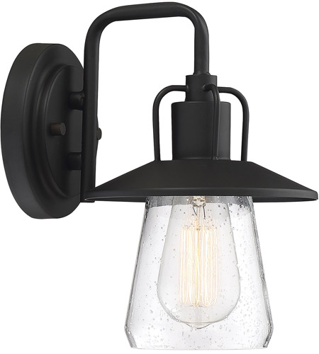 Light Visions PL0216BK Farmhouse 1 Light 11 inch Matte Black Outdoor Wall Sconce photo thumbnail