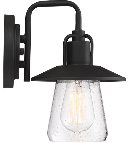 Light Visions PL0216BK Farmhouse 1 Light 11 inch Matte Black Outdoor Wall Sconce alternative photo thumbnail