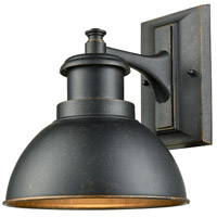 Light Visions 106014-1 Farmhouse 1 Light 10 inch Bronze Outdoor Wall