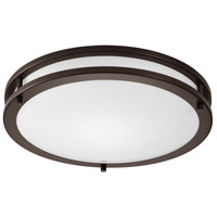 Contemporary LED 16 inch Oil Rubbed Bronze Flush Mount Ceiling Light