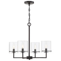 Light Visions PL0251ORB Transitional 4 Light 26 inch Oil Rubbed Bronze Chandelier Ceiling Light