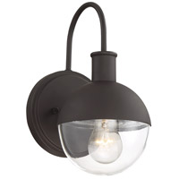 Light Visions PL0270ORB Farmhouse 1 Light 12 inch Oil Rubbed Bronze Outdoor Sconce