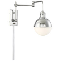 Light Visions PL0238CH Industrial 1 Light 7 inch Chrome Sconce Wall Light