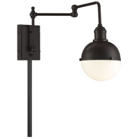 Light Visions PL0238ORB Industrial 1 Light 7 inch Oil Rubbed Bronze Sconce Wall Light