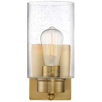Transitional 1 Light 5 inch Brushed Nickel Wall Sconce Wall Light