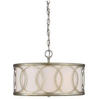 Light Visions PL0102ARG Contemporary 3 Light 18 inch Argentum Pendant Ceiling Light