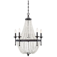 Light Visions PL0108ORB Transitional 5 Light 24 inch Oil Rubbed Bronze Chandelier Ceiling Light