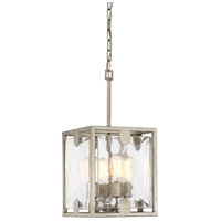 Light Visions PL0155SD Contemporary 4 Light 11 inch Silver Dust Pendant Ceiling Light