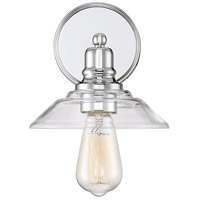Light Visions PL0168CH Transitional 1 Light 8 inch Polished Chrome Wall Sconce Wall Light