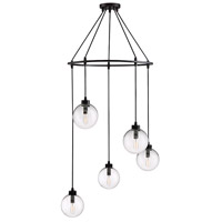 Light Visions PL0175ORB Modern 5 Light 26 inch Oil Rubbed Bronze Pendant Ceiling Light