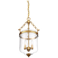 Light Visions PL0177NB Transitional 3 Light 13 inch Natural Brass Pendant Ceiling Light alternative photo thumbnail