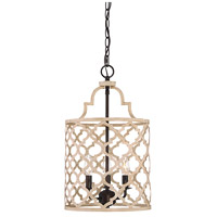 Light Visions PL0178LWORB Transitional 3 Light 12 inch Light Wood with Oil Rubbed Bronze Foyer Ceiling Light