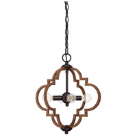 Light Visions PL0183DG Transitional 4 Light 15 inch Remington Foyer Ceiling Light