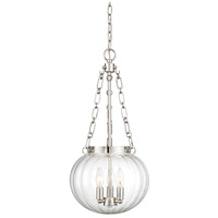 Light Visions PL0185PN Transitional 3 Light 15 inch Polished Nickel Pendant Ceiling Light