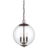 Light Visions PL0189ORB Transitional 3 Light 13 inch Oil Rubbed Bronze Pendant Ceiling Light
