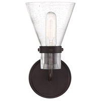 Light Visions PL0199ORB Mid-Century 1 Light 6 inch Oil Rubbed Bronze Sconce Wall Light