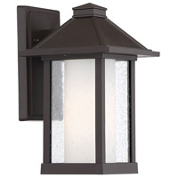 Light Visions PL0203ORB Farmhouse 1 Light 12 inch Oil Rubbed Bronze Outdoor Sconce