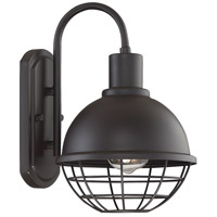 Light Visions PL0211ORB Industrial 1 Light 12 inch Oil Rubbed Bronze Outdoor Wall Sconce