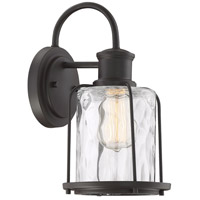 Light Visions PL0214ORB Farmhouse 1 Light 13 inch Oil Rubbed Bronze Outdoor Wall Sconce