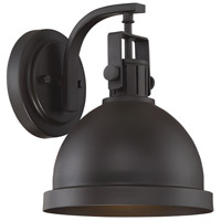 Light Visions PL0215ORB Industrial 1 Light 10 inch Oil Rubbed Bronze Outdoor Wall Sconce