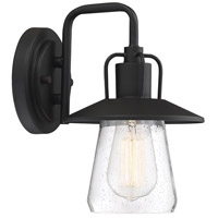 Light Visions PL0216BK Farmhouse 1 Light 11 inch Matte Black Outdoor Wall Sconce