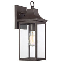 Light Visions PL0218ORB Farmhouse 1 Light 15 inch Oil Rubbed Bronze Outdoor Sconce