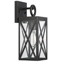 Light Visions PL0221BK Farmhouse 1 Light 14 inch Black Outdoor Wall Sconce alternative photo thumbnail