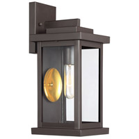 Light Visions PL0222ORB Farmhouse 1 Light 14 inch Oil Rubbed Bronze Outdoor Wall Sconce photo thumbnail