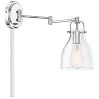 Light Visions PL0229CH Transitional 1 Light 6 inch Chrome Sconce Wall Light