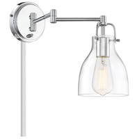 Light Visions PL0229CH Transitional 1 Light 6 inch Chrome Wall Sconce Wall Light, Adjustable alternative photo thumbnail