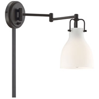 Light Visions PL0229ORB Transitional 1 Light 6 inch Oil Rubbed Bronze Sconce Wall Light