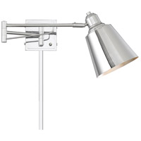 Light Visions PL0233CH Industrial 1 Light 7 inch Chrome Wall Sconce Wall Light, Adjustable photo thumbnail