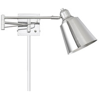 Light Visions PL0233CH Industrial 1 Light 7 inch Chrome Wall Sconce Wall Light, Adjustable alternative photo thumbnail
