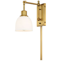 Light Visions PL0234NB Industrial 1 Light 6 inch Natural Brass Wall Sconce Wall Light