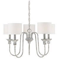 Light Visions PL0249AI Traditional 5 Light 26 inch Aged Iron Chandelier Ceiling Light
