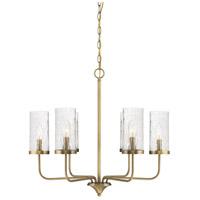 Light Visions PL0250NB Farmhouse 5 Light 26 inch Natural Brass Chandelier Ceiling Light