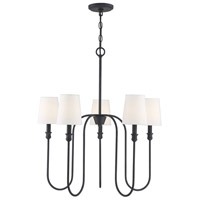 Light Visions PL0252AI Traditional 5 Light 27 inch Aged Iron Chandelier Ceiling Light