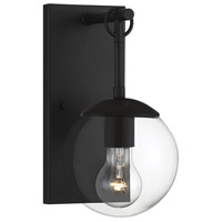 Light Visions PL0256BK Farmhouse 1 Light 11 inch Matte Black Outdoor Sconce