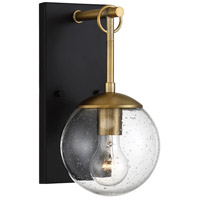 Light Visions PL0256ORBNB Farmhouse 1 Light 11 inch Oil Rubbed Bronze/Brass Outdoor Sconce