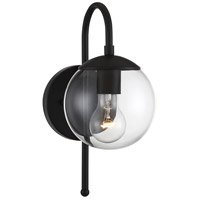 Light Visions PL0257BK Farmhouse 1 Light 13 inch Matte Black Outdoor Sconce