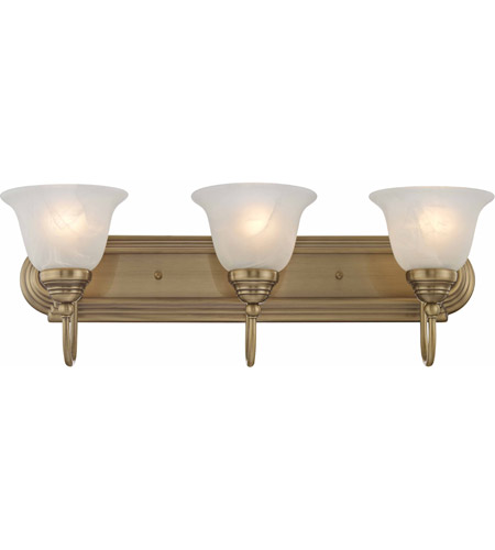 Brass Belmont Bathroom Vanity Lights