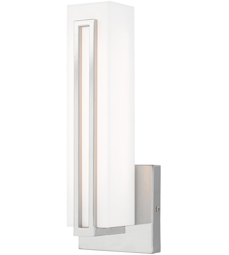 Livex Polished Chrome Steel Wall Sconces